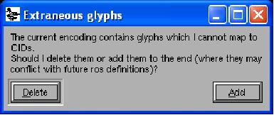 fontforge-extraneous-glyphs