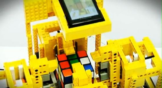 Arm/Android Lego Rubik's Cube Solver