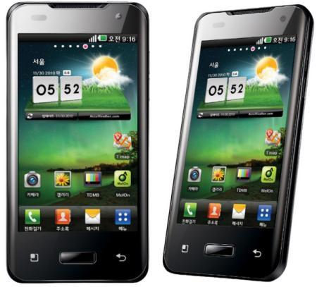 Dual Core Nvidia Tegra 2 Smartphone: LG Optimux 2X