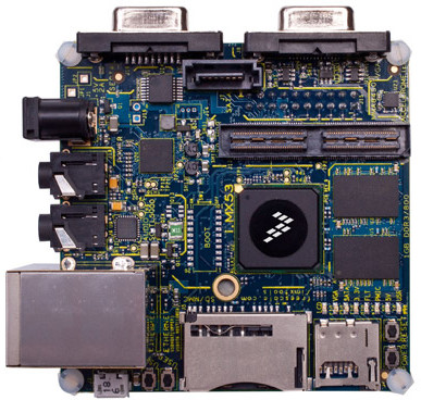 Low Cost Development Board based on Freescale i.MX53