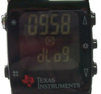 TI Wireless Watch Temperature Recording