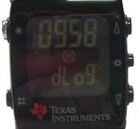 TI Wireless Watch Temperature Recording