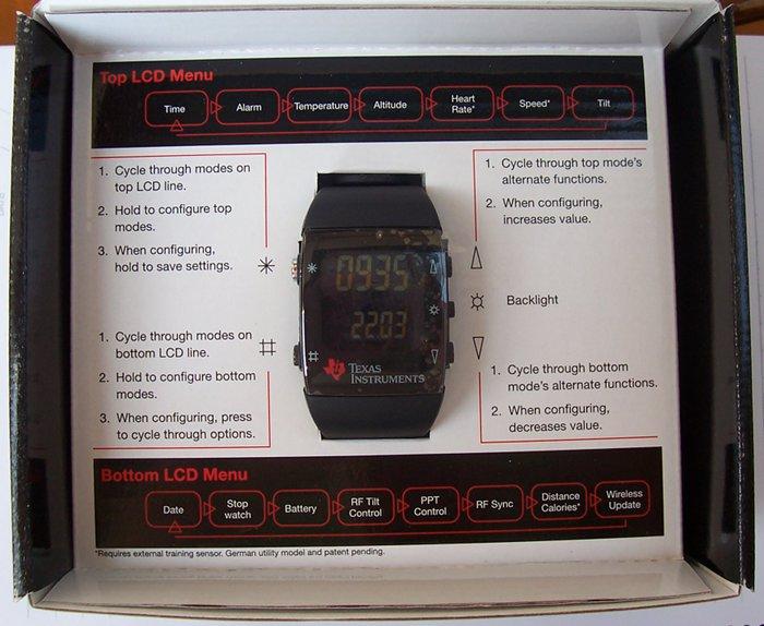 TI Wireless Watch Dev Kit