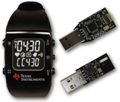 TI MSP430 Wireless Watch Devkit