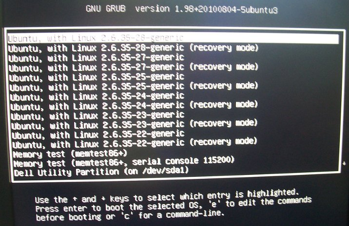 GRUB with Multiple=