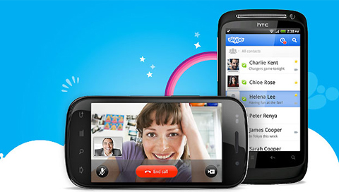 Skype Video Calls on Android Smartphones and Tablets