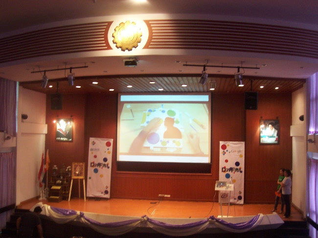 Android, HTML5 and Google Analytics Sessions at DevFest Thailand