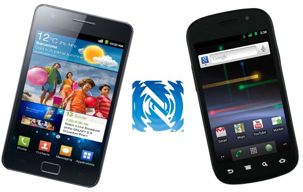 Near Field Communication Peer-to-peer Communication Galaxy S2 vs Google Nexus S