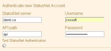 Twitterfeed identi.ca Authentication Timeout