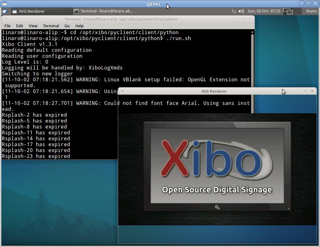 xibo client windows