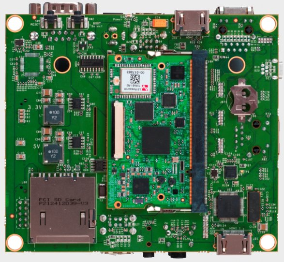 Motherboard for VAR-SOM-OM44 System on Module based on OMAP4460
