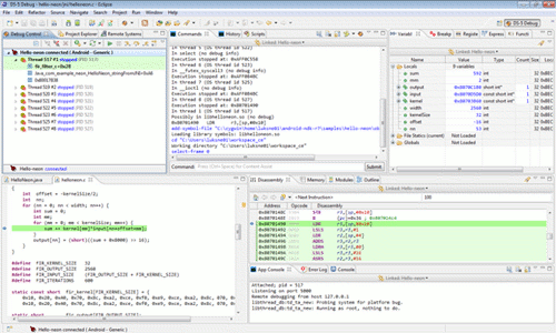 Eclipse Android Debuger for ARM