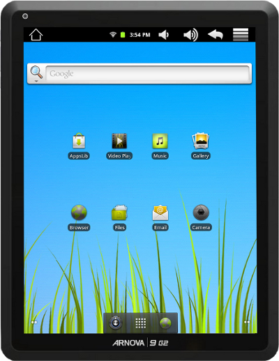 Rockchip RK2918 based Tablet IPAD 2 Clone