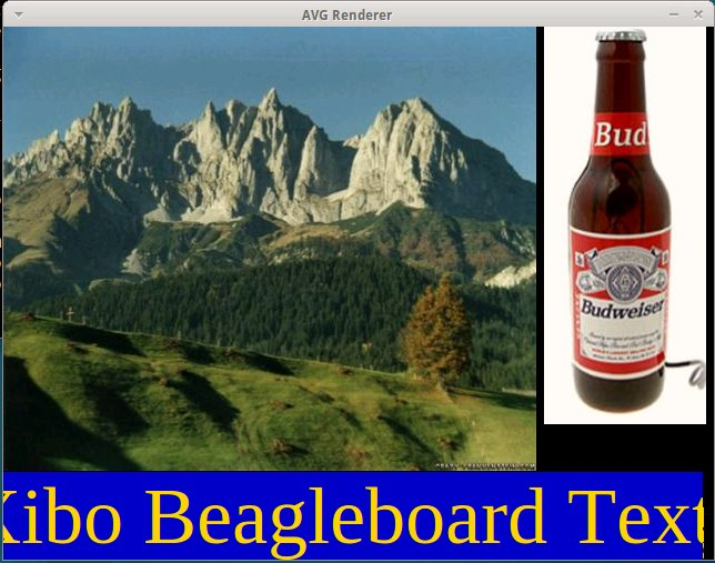 Xibo Running in Beagleboard / Overo Emulator