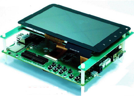 Allwinner A10 Development Board with Touchscreen