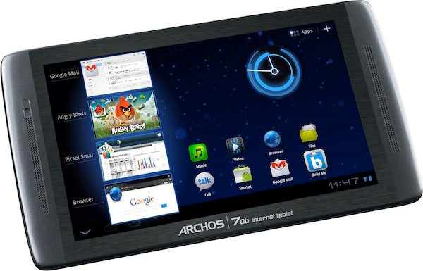 Archos 70b-IT: Android 3.2 Tablet for less than 200 dollars