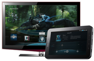 Google TV Alternative Controlled by Android Tablets / Smartphones or iPad / iPhone