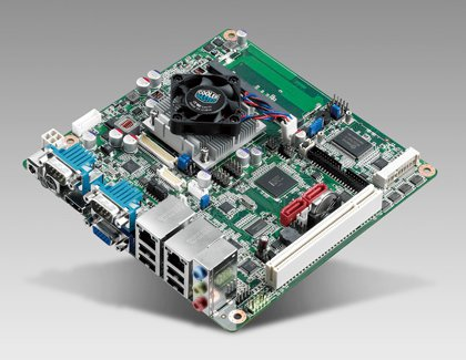 Intel Atom processor N2600, N2800 and D2700 dual core  mini-ITX board