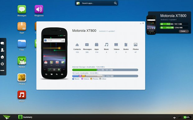 Control Your Android Smartphone with your Desktop Computer