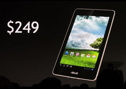 Low cost Nvidia Tegra 3 Android Tablet