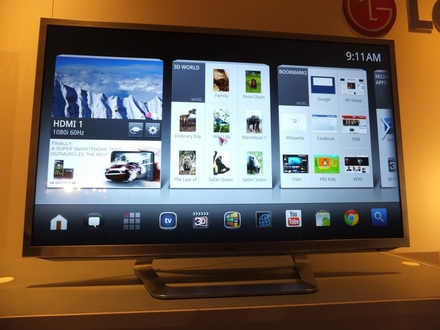 LG Google TV Dual Core Processor