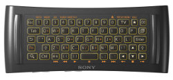 Sony Google TV Keyboard