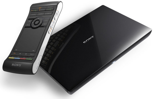 Sony Google TV STB at CES 2012