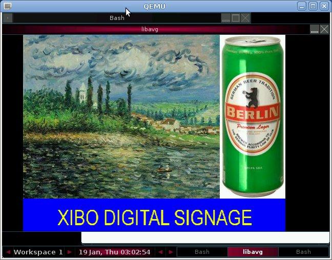 Xibo ARMv6 Board