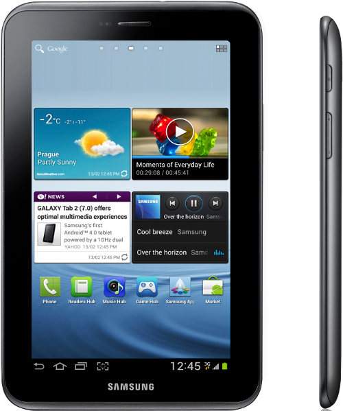 Samsung Galaxy Tab Android 4.0 (ICS)