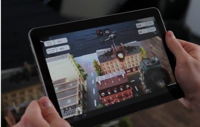 metaio Augmented Reality SDK with 3D Object Tracking