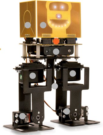 Wireless Robot Can Walk, Dance and Teach Sensor Programming