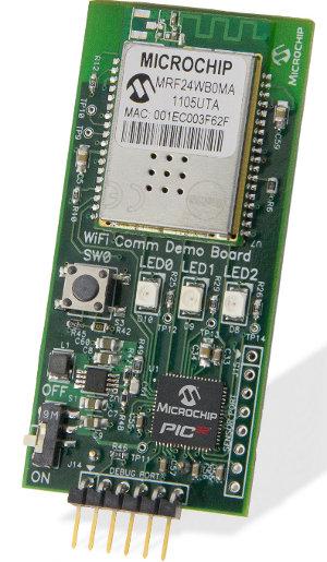 Microchip MCU WiFi MRF24WB0MA
