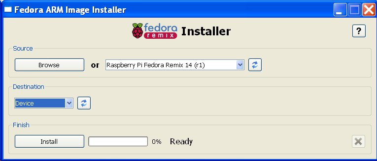 How to install Fedora for Raspberry Pi