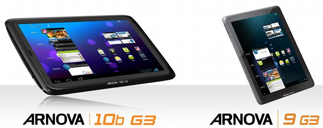 Arnova 10b G3 & Arnova 9 G3 Tablets with Android ICS