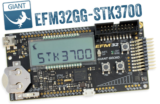 Energy Micro 32-Bit Cortex M3 Development Kit