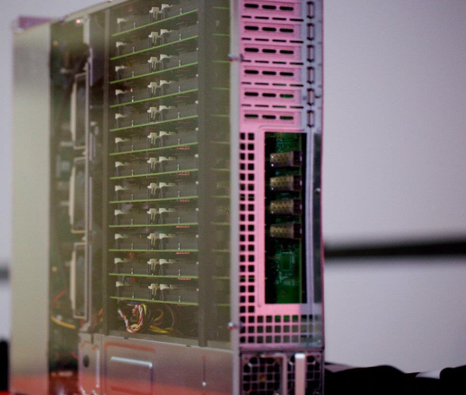 ARM Cortex A9 Server with 192 Core Running Ubuntu Server