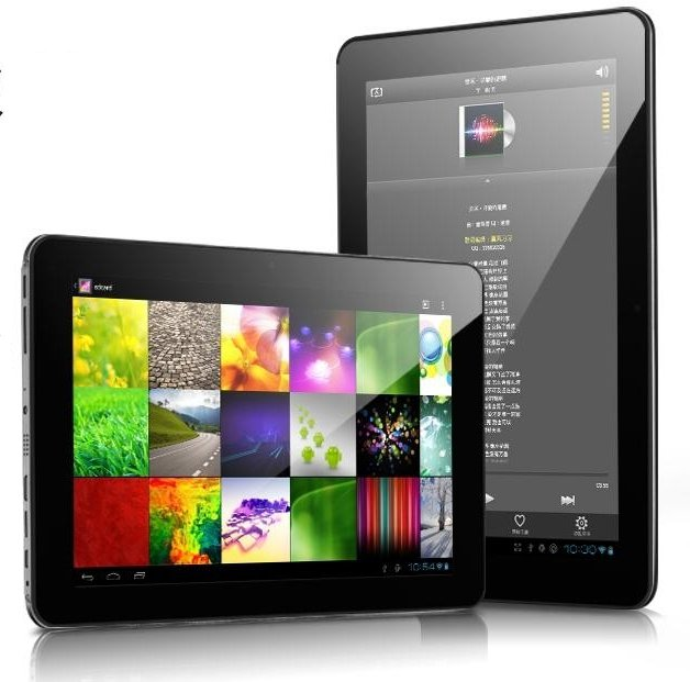 RK3066 Cortex A9 + Mali 400 GPU Android ICS Tablet