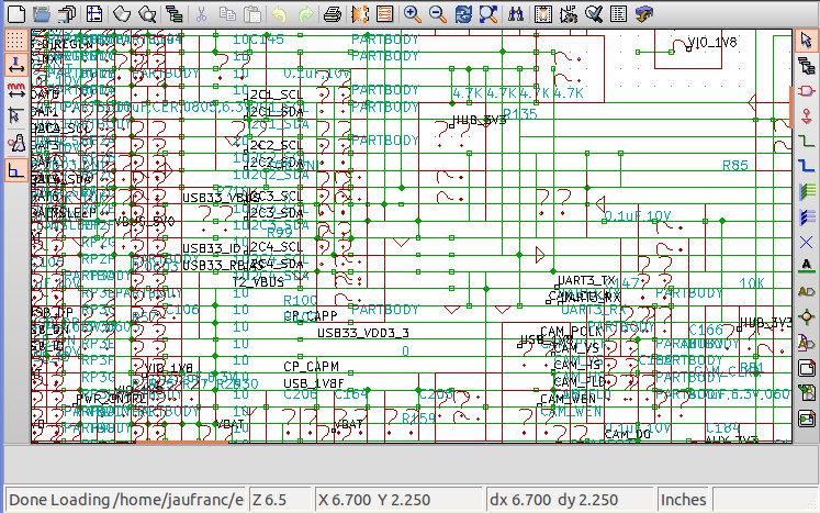 Kicad Beagleboard-xM fail