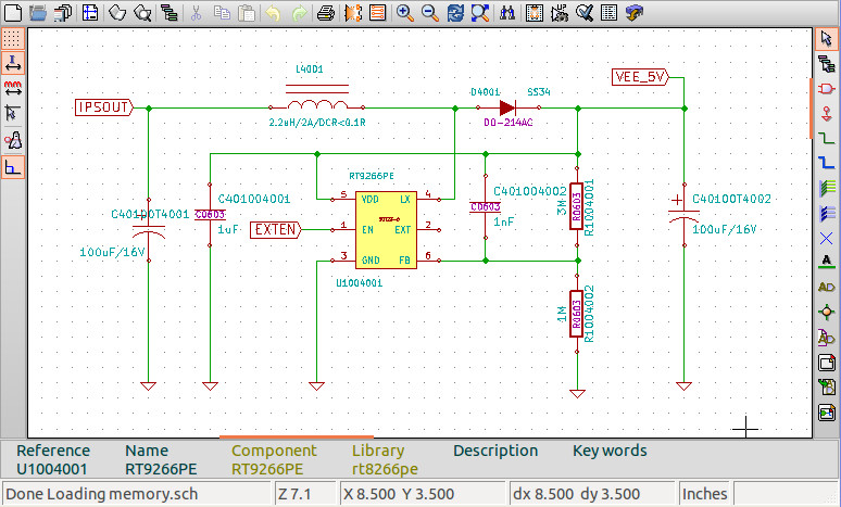 Schematics Capture and PCB Layout in Linux with Kicad
