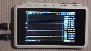 Low Cost Cortex M3 Pocket Oscilloscope