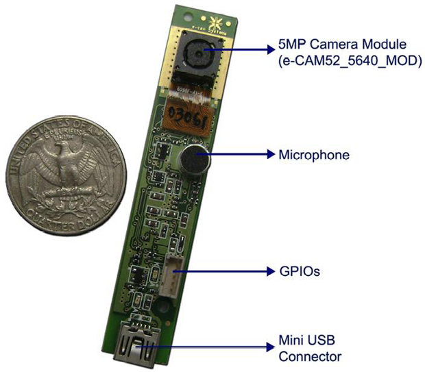 e-Consystems e-CAM51_USB Module based on OV5640