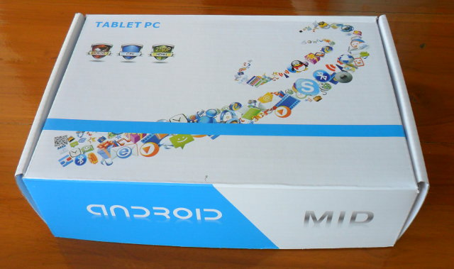 Ugoos Tablet package