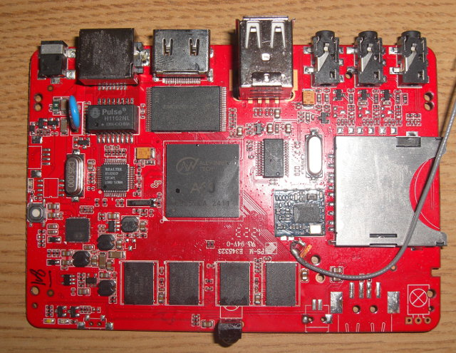 AllWinner A10 Development Board with 1 GB RAM
