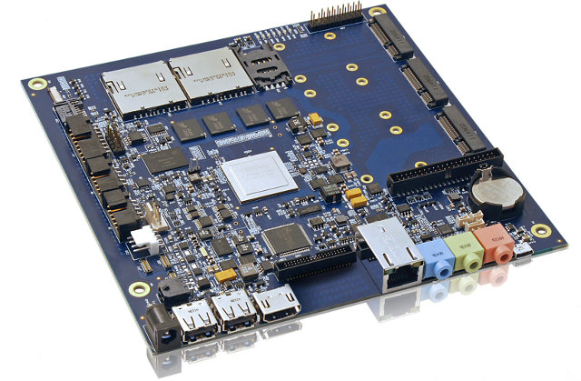 Nvidia Tegra 3 mini-ITX board