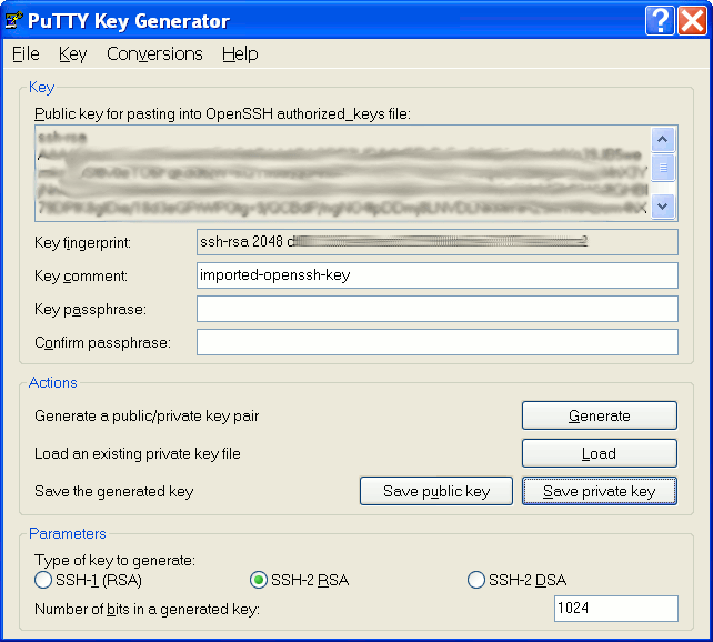 How To Use Putty with an SSH Private Key Generated by OpenSSH