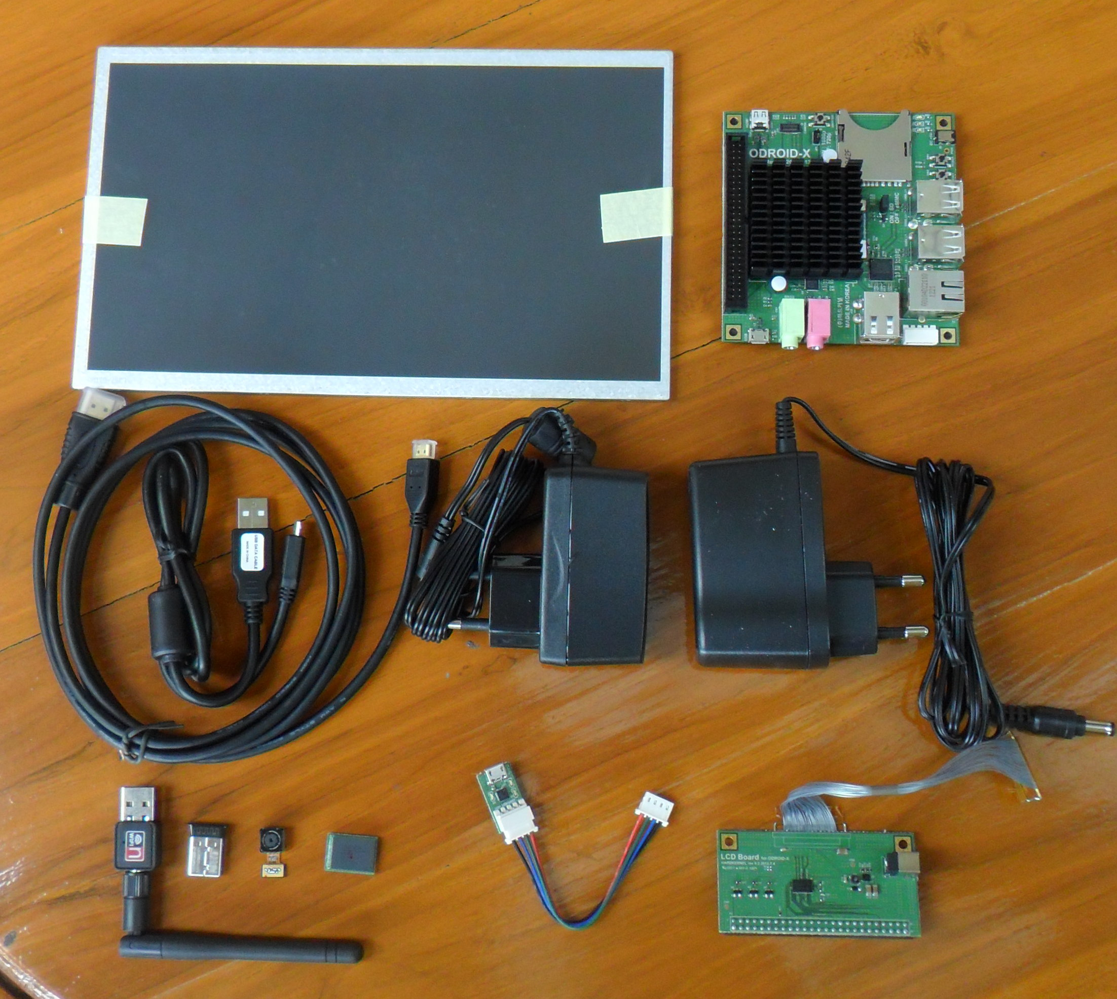 HardKernel ODroid-X Development Board Unboxing And First