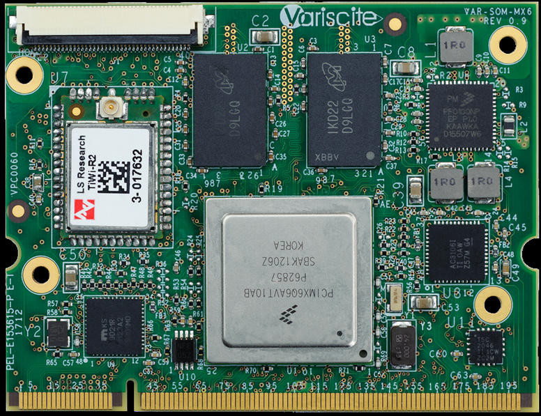 Variscite VAR-SOM-MX6 Freescale i MX 6 Solo, Dual and Quad