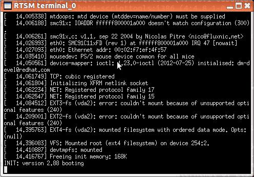 Linux boot on Cortex A57 virtual platform