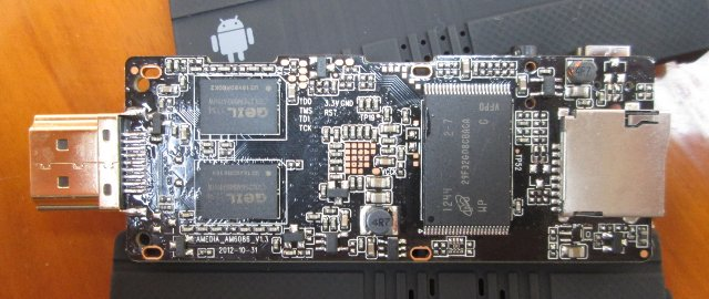 Bottom of Droid Stick A2 PCB (Click to Enlarge)