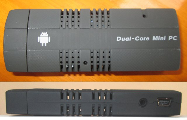 Droid Stick A2 Top and Side